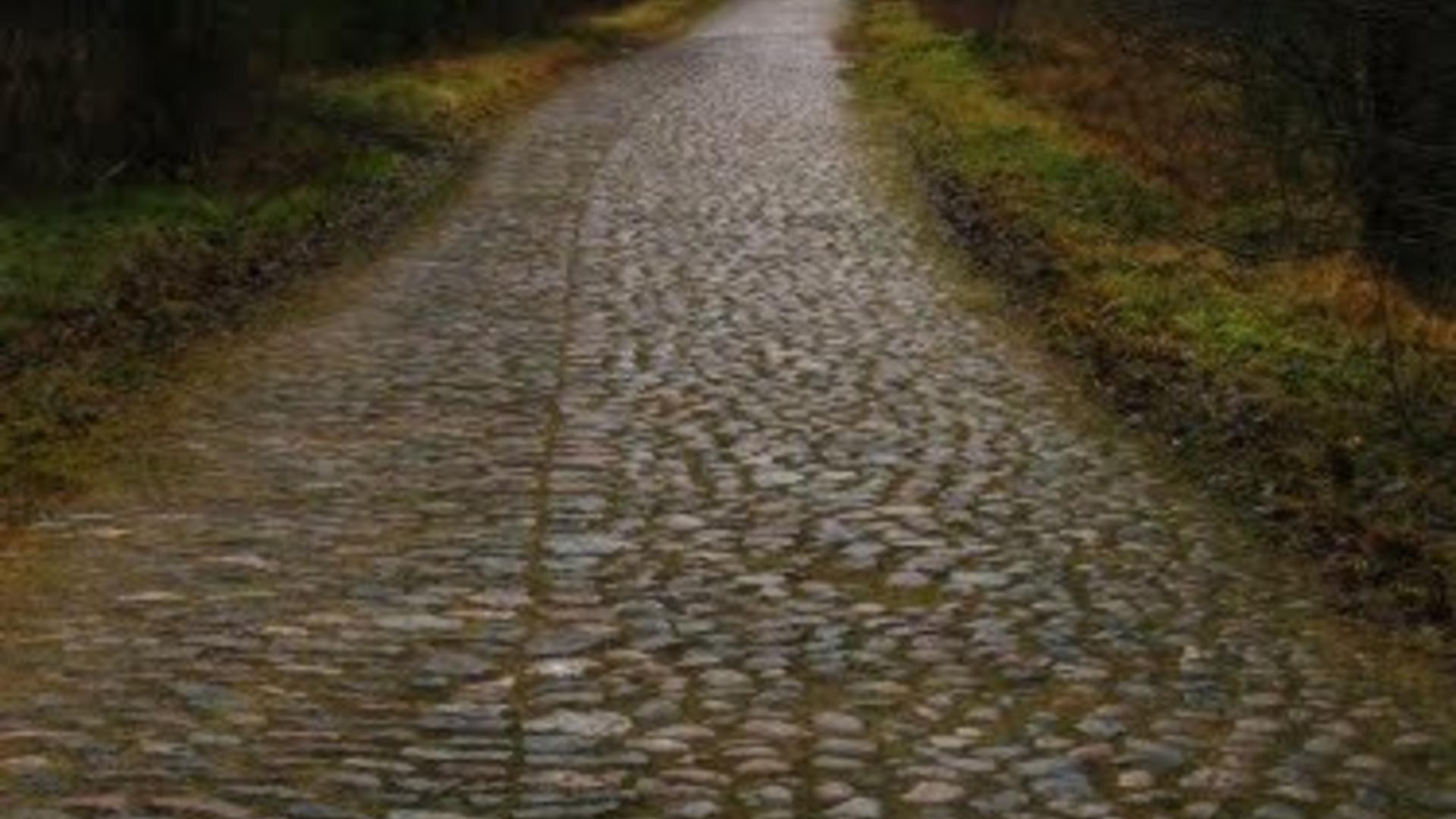 Rock roadway fragment