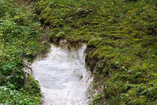 Варюскоe геологическое обнажение