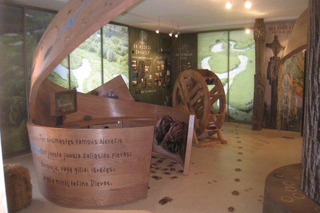 Krekenava Regional Park Visitors Centre Exposition