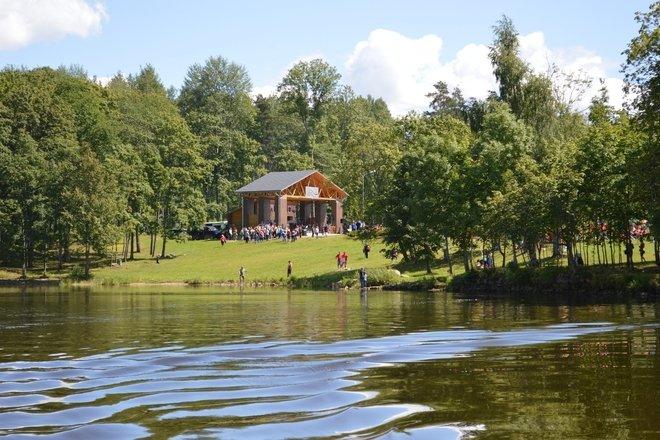 """Open-air leisure complex """"Zvejnieklicis"""""""