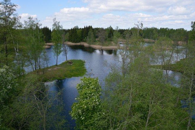 Киркиласские карстовые озера
