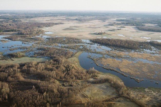The Nature Park Dvietes paliene (Dviete flood-plains)