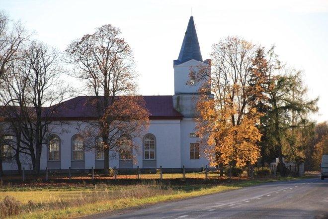 Saint Anne's Evangelic Lutheran Church in Birzi